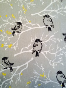 easy fabric wall art birds