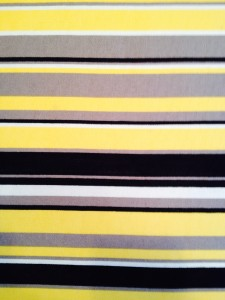 easy fabric wall art stripes