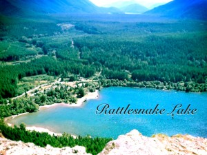 Rattlesnake Lake After Pixelmator photo editing