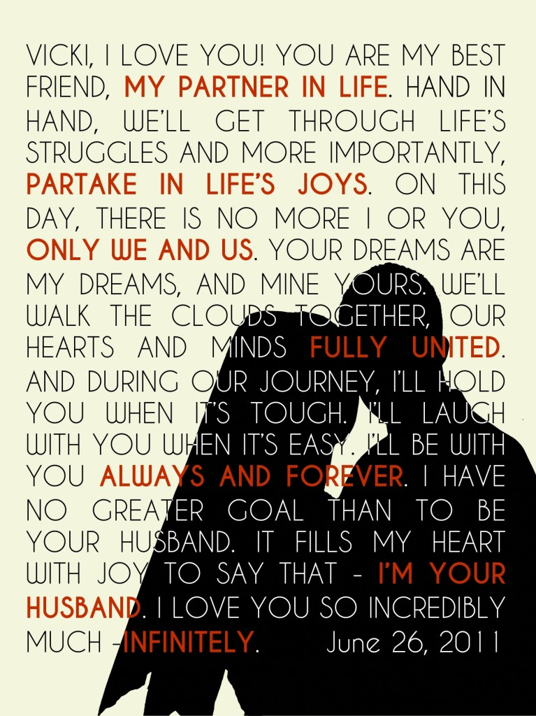 Pixelmator wedding vows art