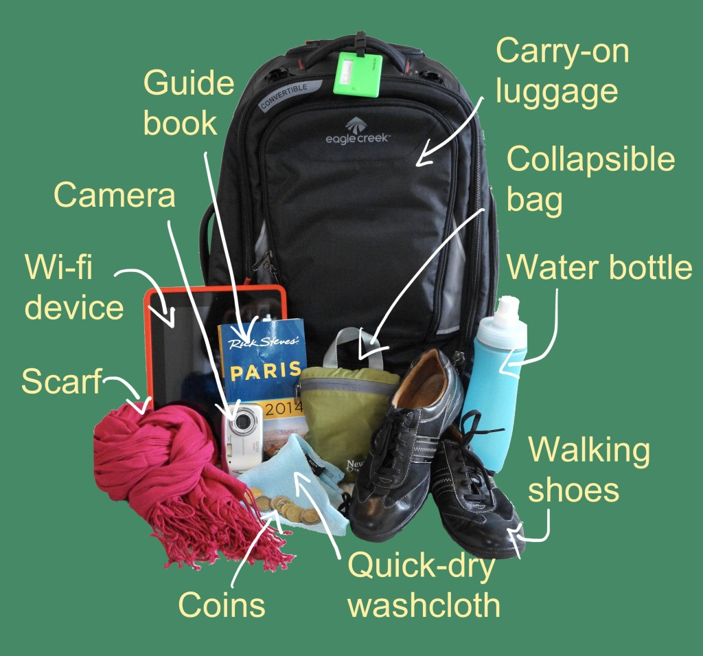 top Europe packing tips items photo