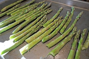 steak dinner recipe for two Ina Garten asparagus