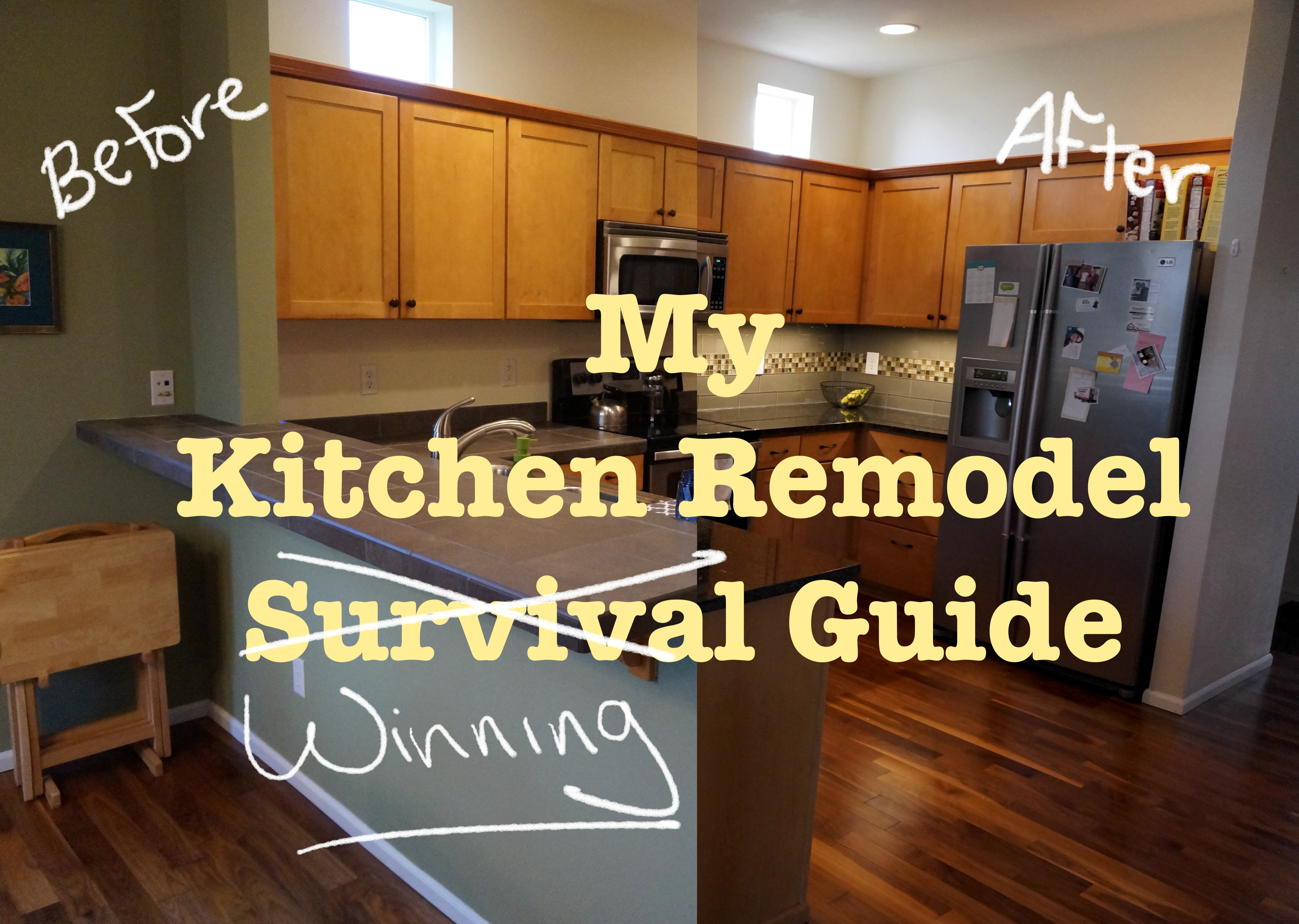 Advice from my first kitchen remodel | The Written Wine